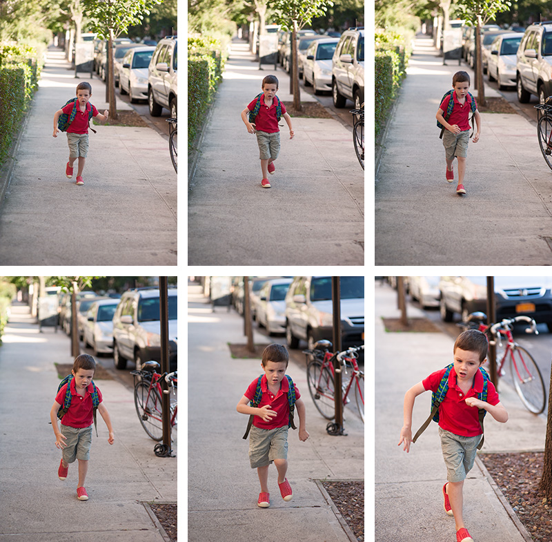 First Day K run-tych
